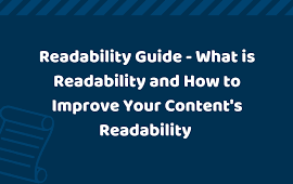 how to improve the readability of the content
