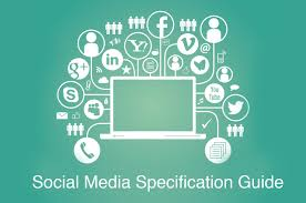 Social media image specifications