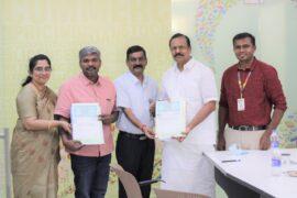 Karthi Easwaramoorthy and Vellar college